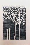 Winterbaum schwarz