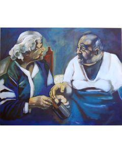 Liebe und Großeltern